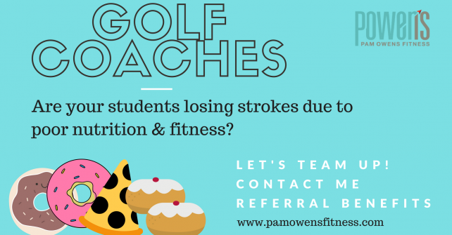 Golf Coaches – Team Up for Nutrition Support!